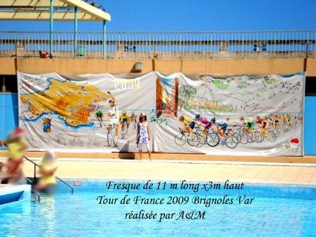 Tour-de-france-2009-la-grande-bocle-brignoles-mary-lambert-copie art