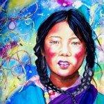 Visages tibétains dans visages du monde tsewang-mary-lambert-150x150
