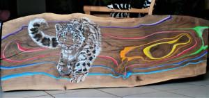 Amour, léopard des neiges. Mary Lou